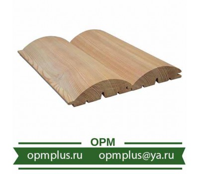 Блок хаус из лиственницы (Сорт Экстра) 28х140 мм