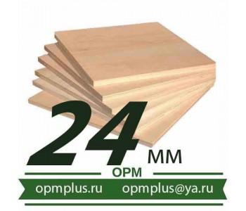 Фанера ФК шлифованная сорт 3/4 (Ш2) (1525х1525) 24 мм