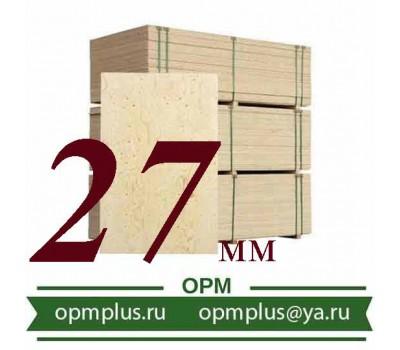 Фанера ФСФ (1220х2440) 27 мм